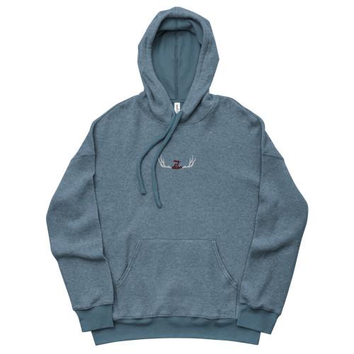 SC Unisex Sueded Embroidery Fleece Hoodie