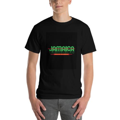 SC Jamaica Short Sleeve Black T-Shirt