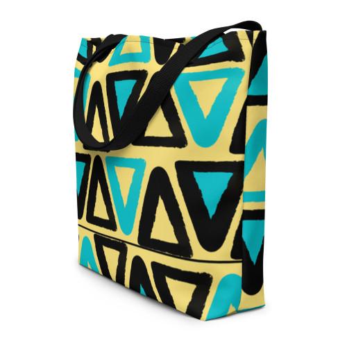 SC Dimensional Graphic Beach Bag