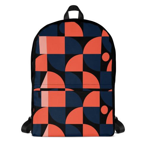 SC Vibrant Pattern Backpack