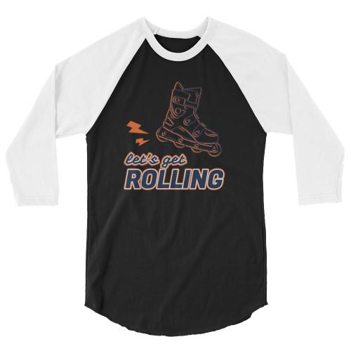 SC Rolling 3/4 Sleeve Raglan Shirt