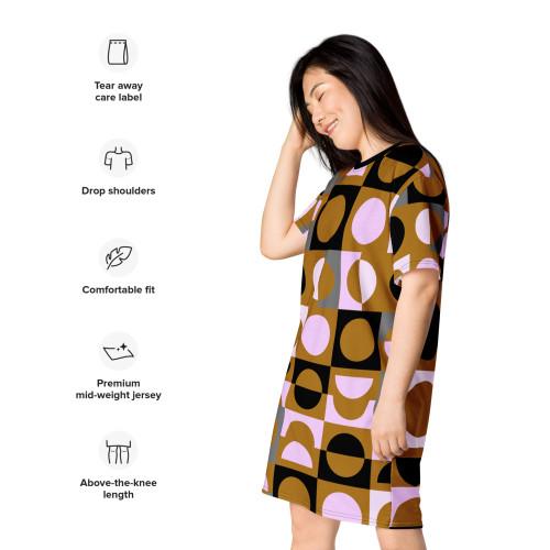 SC Bold- All-Over-Print T-Shirt Dress