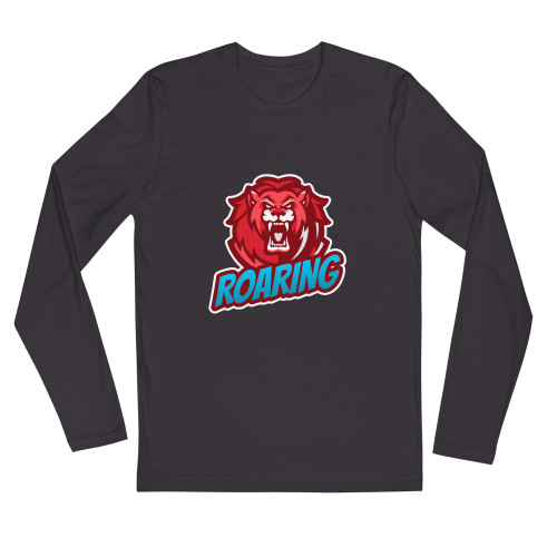 SC Long Sleeve Roaring-Fitted Crew Shirt