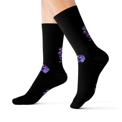 SC Grim Graphic Sublimation Socks