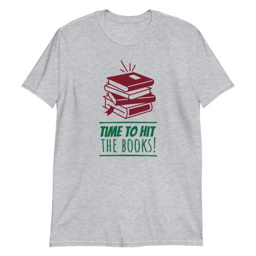 SC Hit The Book Short-Sleeve Unisex T-Shirt