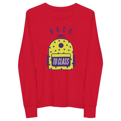 SC Back To School Youth Long Sleeve Tee