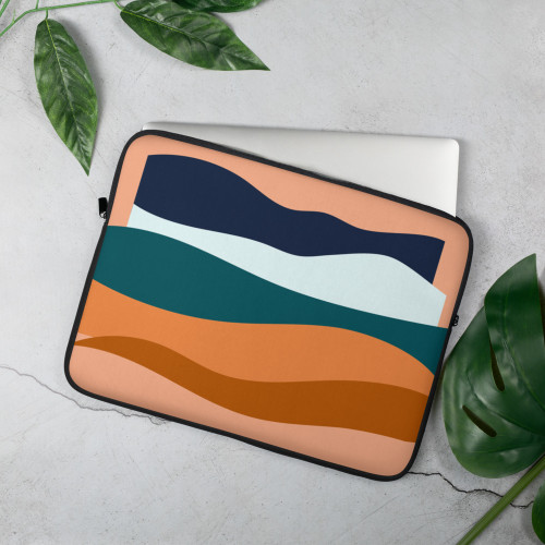 SC Abstract Design Laptop Sleeve
