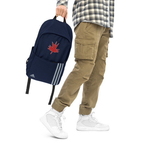 SC Embroidery Maple Leaf Backpack