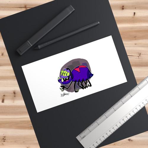 SC Cheery Spider Bumper Stickers