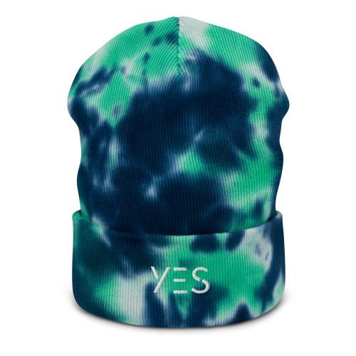 SC Yes Tie-Dye Beanie