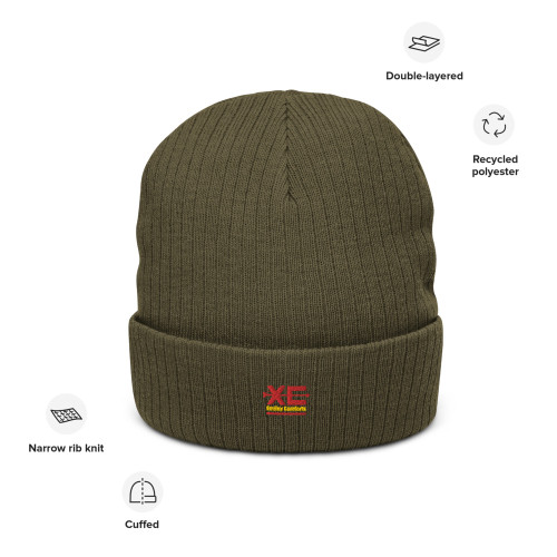 SC Graphic Embroidery Recycled Cuffed Beanie