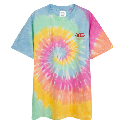 SC Psychedelic Oversized Tie-Dye T-Shirt