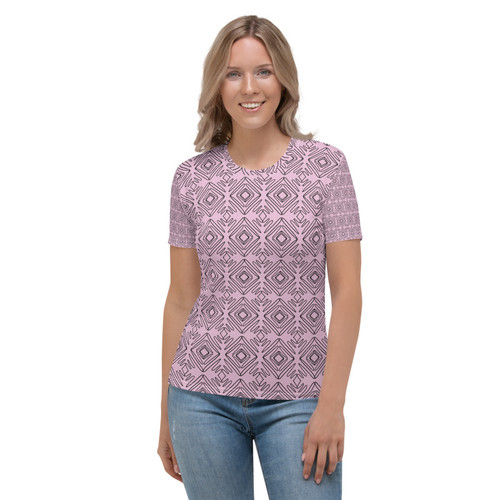 SC Abstract Graphic Pattern Women's T-shirt