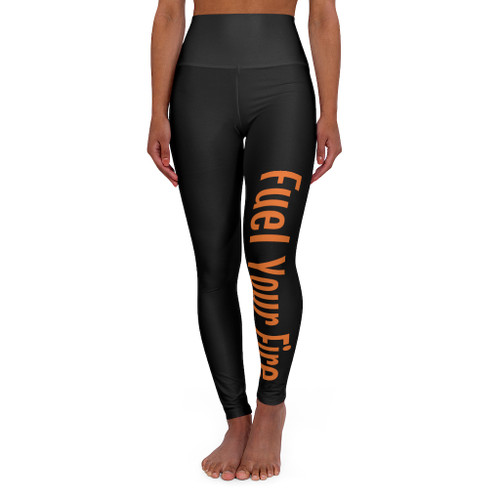 SC Fuel Your Fire High Waisted Yoga Leggings *Free Shipping*