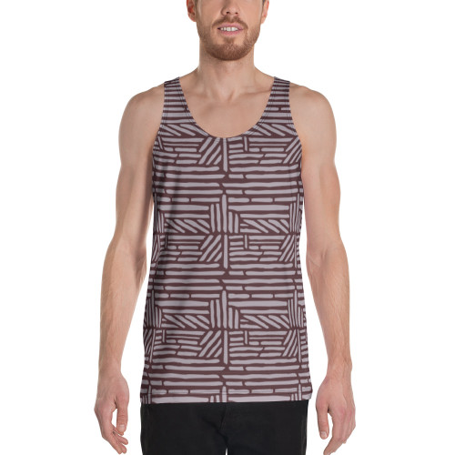 SC Artsy All-Over-Print On Tank Top