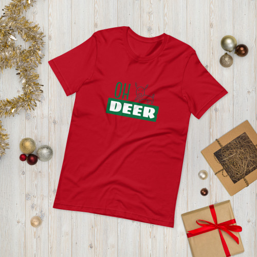 SC OH Deer Short-Sleeve Unisex T-Shirt