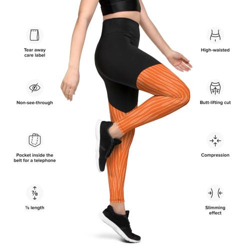 SC Graphic Performance Sports Leggings