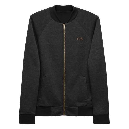 SC Embroidery Style Bomber Jacket