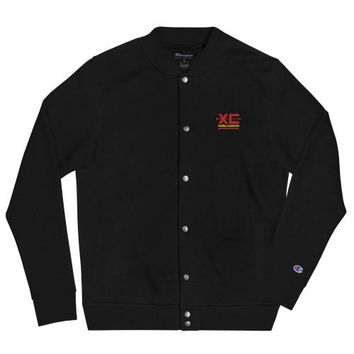 SC Symbol Embroidered Champion Bomber Jacket