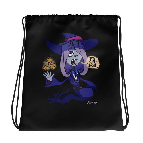 SC Little Witch Drawstring Bag