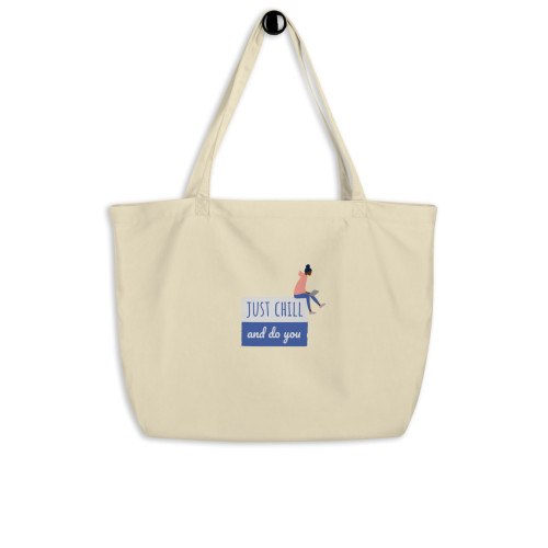SC Chill Large Organic Tote Bag