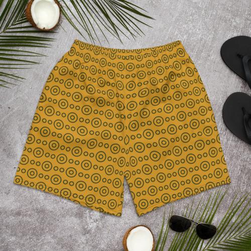 SC Pattern  Design Men's Athletic Long Shorts