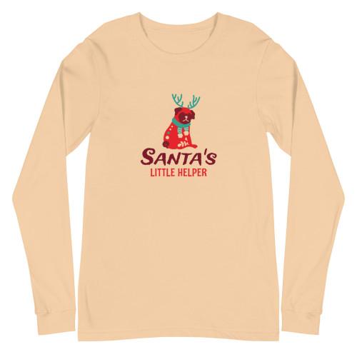 SC Santa's Helper Long Sleeve Tee