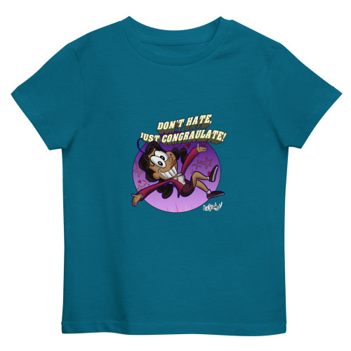 SC Don't Hate Just Congratulate Organic Cotton Kids T-Shirt
