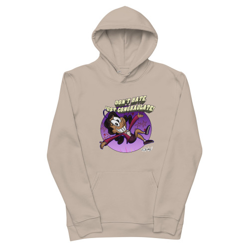 SC Don't Hate Just Congratulate Unisex Essential Eco Hoodie