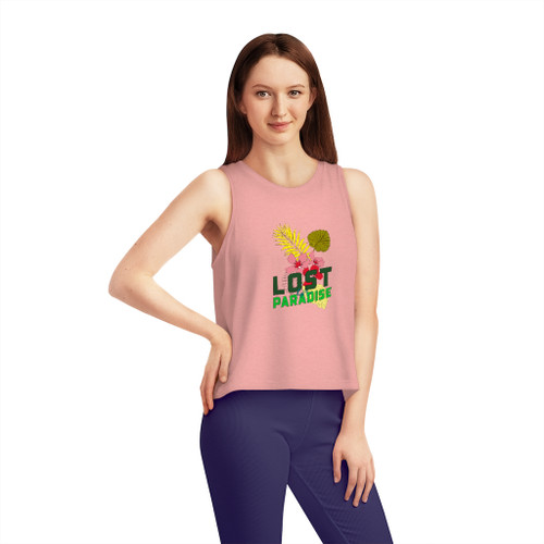 SC Lost In Paradise Women's Dancer Cropped Tank Top
