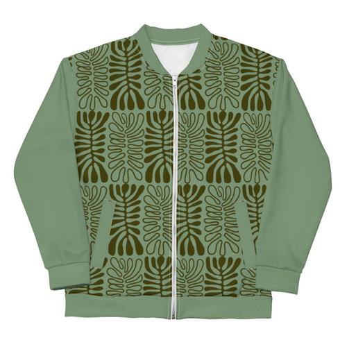 SC Zip-Up All-Over-Print Bomber Jacket