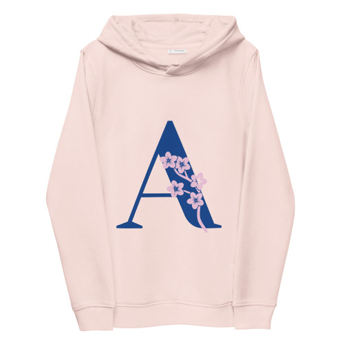 SC A Graphic Women's Eco Fitted Hoodie