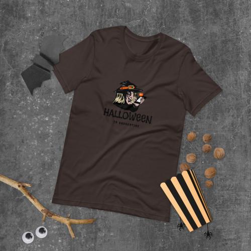SC Halloween In Quarantine Short-Sleeve Unisex T-Shirt