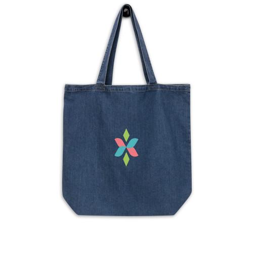 SC Graphic Organic Denim Tote Bag