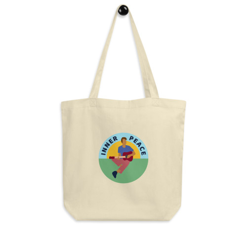SC Graphic Inner Peace Eco Tote Bag