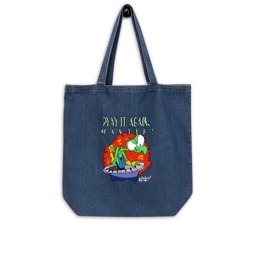 SC Play It Again Man(Tis) Organic Denim Tote Bag