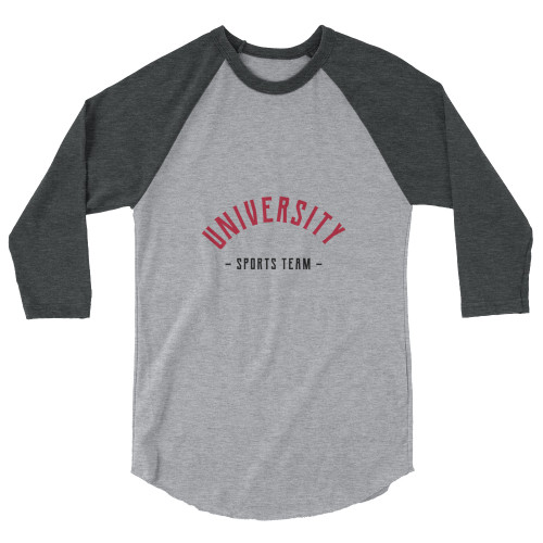 SC  Team Spirit 3/4 Sleeve Raglan Shirt