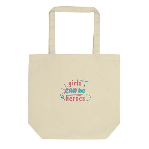 SC Girls Can Be Hero Eco Tote Bag