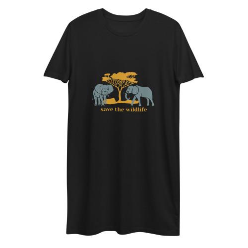 SC Save The Wild Life Organic Cotton T-Shirt Dress