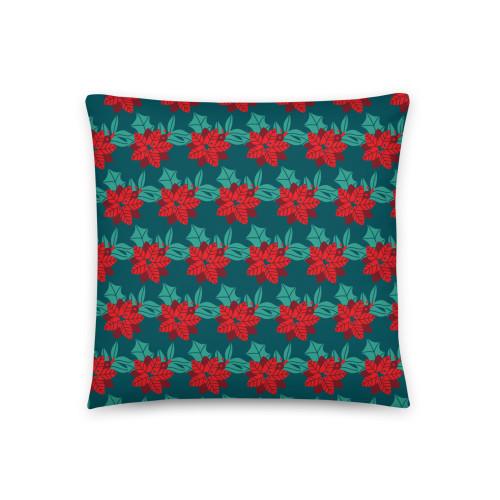 SC Holiday Festive Pattern Basic Pillow (Seasonal)