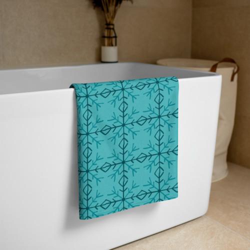 SC Graphic SnowFlake Towel (Seasonal)