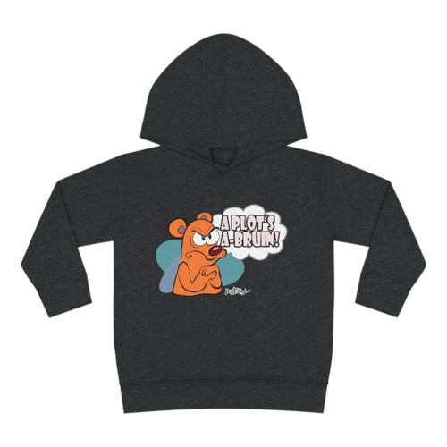 SC A Plot's A-Bruin Toddler Pullover Fleece Hoodie