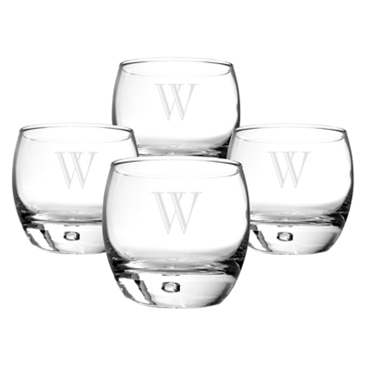 Horse gift Whisky Glasses heavy base.