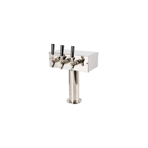 Stainless Steel 3 Tap T-Tower