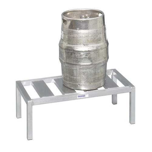 2 Keg Storage Rack