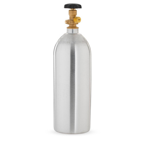 5lb Aluminum CO2 Air Tank - Empty