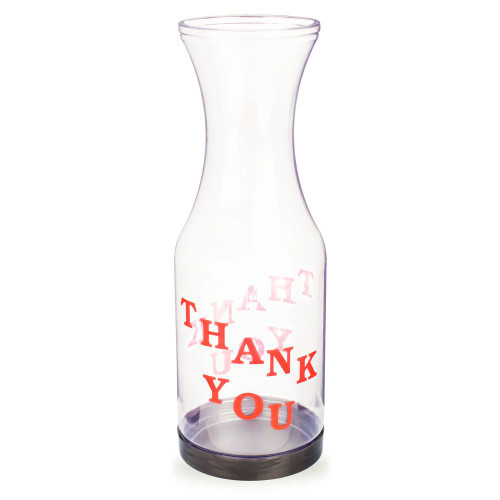"Bartender Tip Jar - Plastic with ""Thank You"" Lettering"