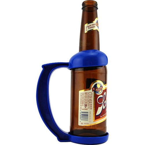 plastic beer holder