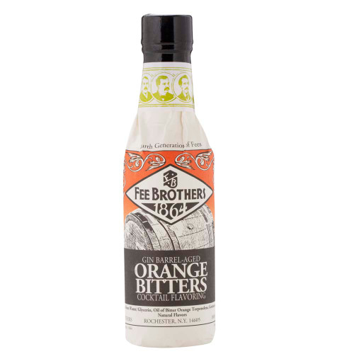 Fee Brothers Gin Barrel-Aged Orange Bitters - 5 oz