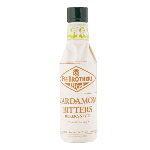 Fee Brothers Cardamom Boker's Style Cocktail Bitters - 5 oz